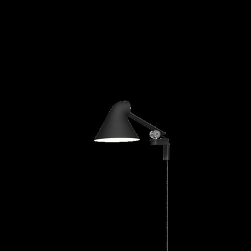 NJP Væg kort arm 3K sort