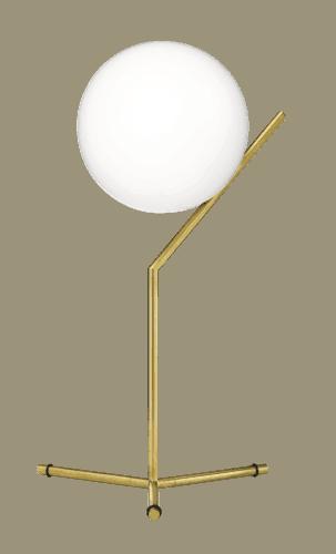 IC T1 BORDLAMPE HIGH MESSING