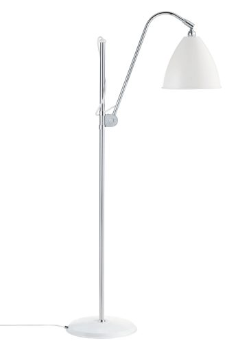 BL3 Gulv Lampe - Ø21 (M), krom base, EU (Soft Hvid Semi Mat)