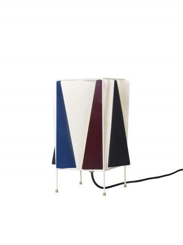 B-4 Bord Lampe, EU (French Blå Semi Mat)