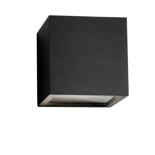CUBE XL DOWN 15X15X15CM LED BLACK