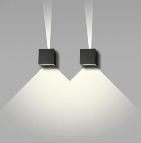 CUBE MINI LED 8X8X8CM BLACK