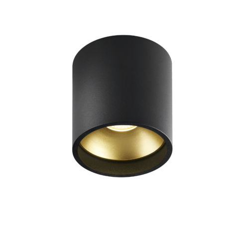 SOLO ROUND BLACK/GOLD