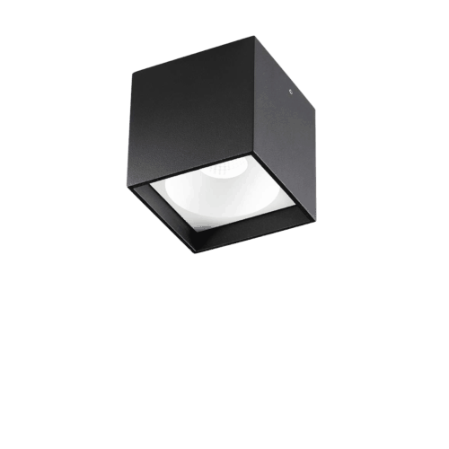 SOLO SQUARE LOFTLAMPE BLACK
