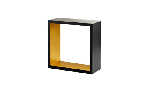 FUSION TABLE LED BLACK/GOLD