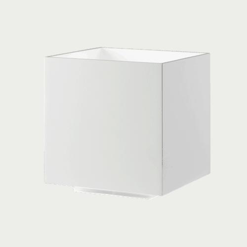 COZY SQUARE TABLE LED WHITE