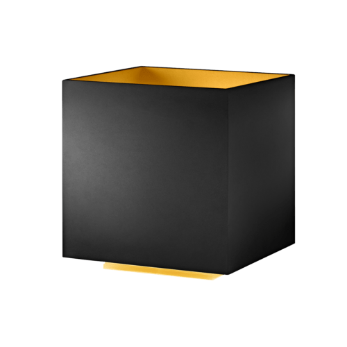 COZY SQUARE TABLE LED BLACK/GOLD